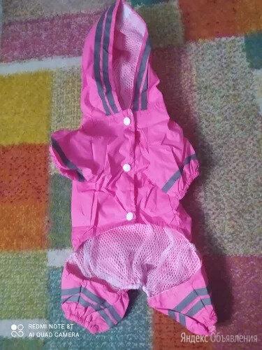 Костюм дождевик для собаки р М по цене 400₽ - Одежда и обувь, фото 0
