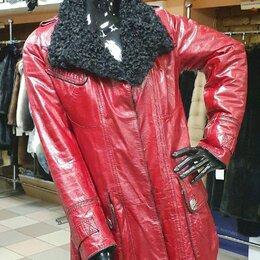 Куртки - Куртка из натуральной кожи с мехом 44, 0