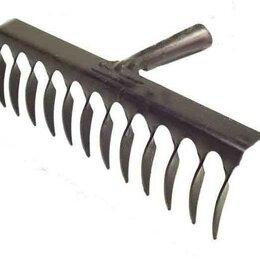 Грабли - Грабли 14-зубые 280 мм без черенка витые, 0