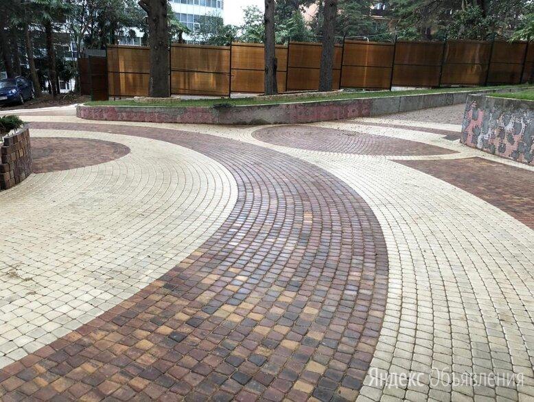 Укладка тротуарной плитки по цене 350₽ - Тротуарная плитка, бордюр, фото 0