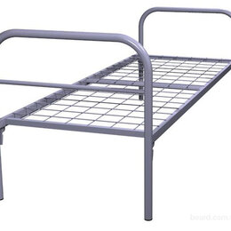 Кровати - Кровати металлические эконом, сетка сварная , 0
