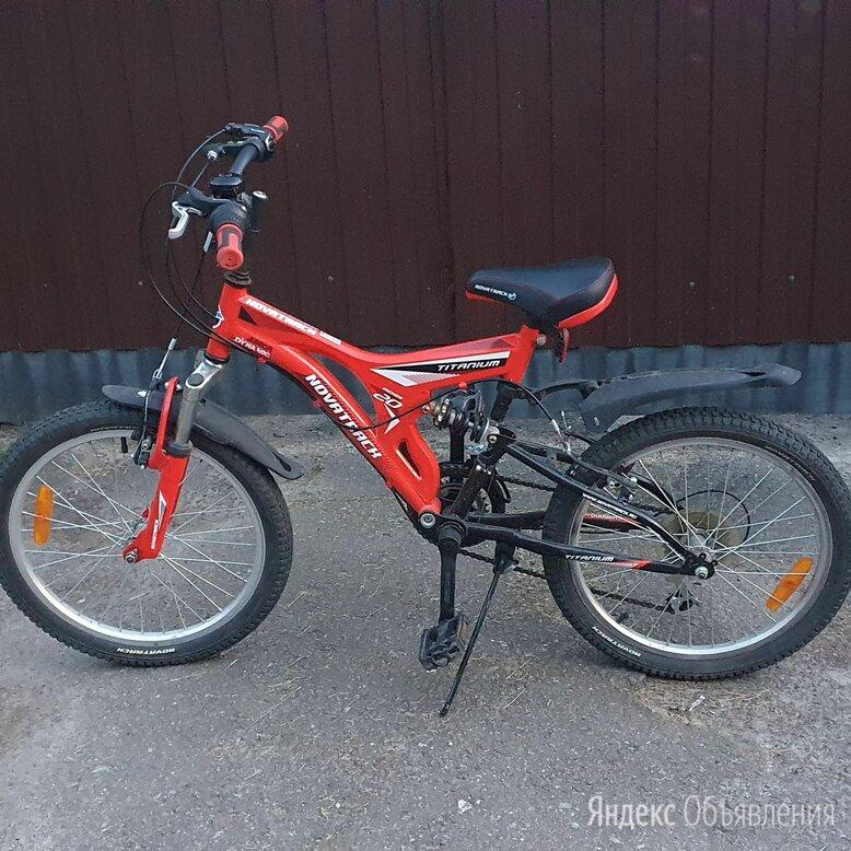 Скоростной велосипед детский novatrack junior titanium  по цене 7250₽ - Велосипеды, фото 0