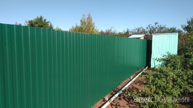 забор из профлиста по цене 4500₽ - Заборы, ворота и элементы, фото 0