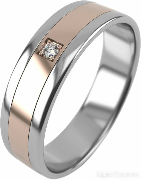 Обручальное кольцо Graf Кольцов R-1-1br/kb_17 по цене 16340₽ - Кольца и перстни, фото 0