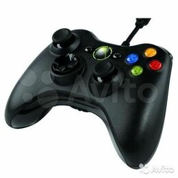 Аксессуары - Геймпад для Xbox 360 проводной, 0