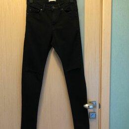 """Джинсы - 40-42 размер 162 рост """"Pull & Bear"""" джинсы с разрезами на коленях, 0"""