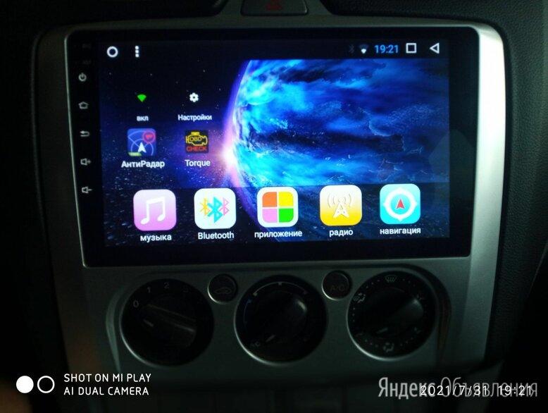Магнитола 2 din на андроид для Форд фокус 2 по цене 14000₽ - Автоэлектроника и комплектующие, фото 0