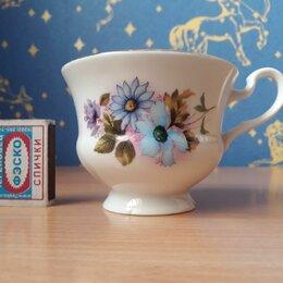Кружки, блюдца и пары - Фарфоровая чашка. Дулёво., 0