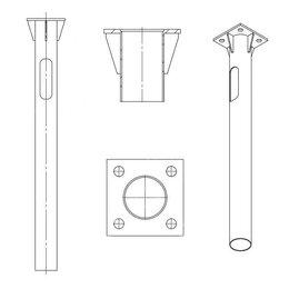 Строительные блоки - Деталь фундамента закладная…, 0