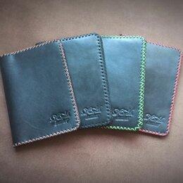 Обложки для документов - Обложка для паспорта ручная работа натуральная кожа, 0