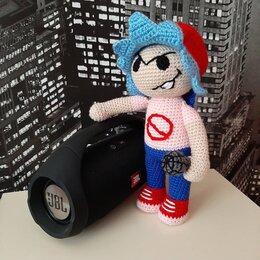 Куклы и пупсы - Вязаная кукла Персонаж Friday night funkin , 0
