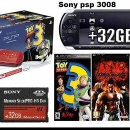 Игровые приставки - Sony PSP 3008 Slim+32Gb карта 70игр Подвезу, 0