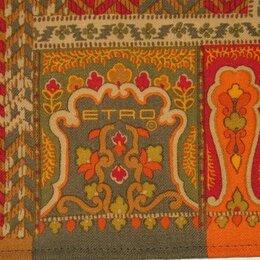 Скатерти и салфетки - Скатерть ETRO, натуральная шерсть, оригинал, 133х133 см, 0