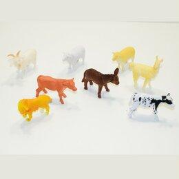 Игровые наборы и фигурки - A008 Набор животных, 0