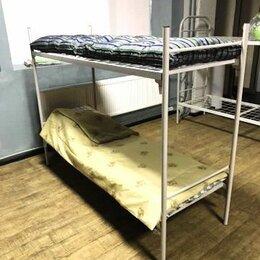 Кровати - Новые, железные  кровати армейского образца , 0