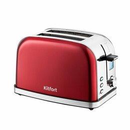 Тостеры - Тостер Kitfort KT-2036-1, красный, 0