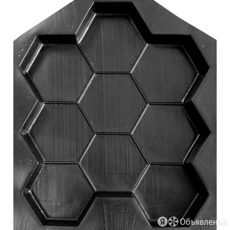 Форма для тротуарной плитки Ресурс СОТЫ по цене 349₽ - Садовые дорожки и покрытия, фото 0