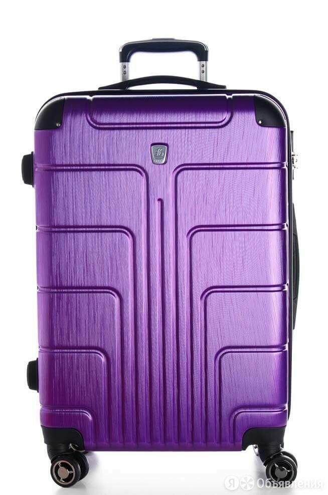 Чемодан Большой Луида Фиолетовый по цене 3800₽ - Дорожные и спортивные сумки, фото 0