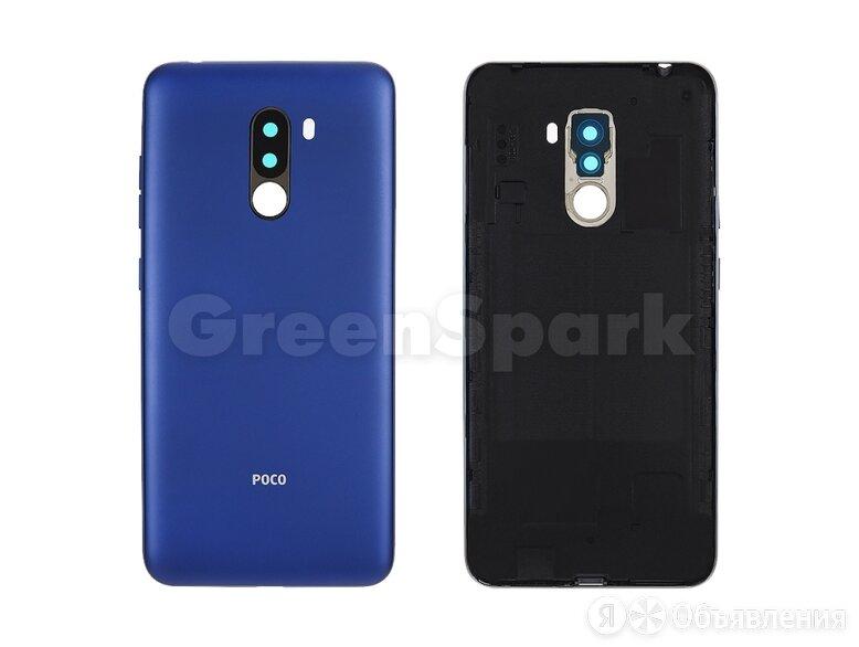 Задняя крышка для Xiaomi Pocophone F1 (синий) по цене 220₽ - Корпусные детали, фото 0