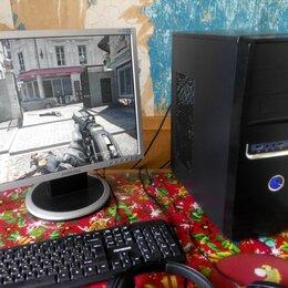 Настольные компьютеры - Комп игровой 4-х\8Gb\SSD-256+500Gb\rx550-4Gb, 0