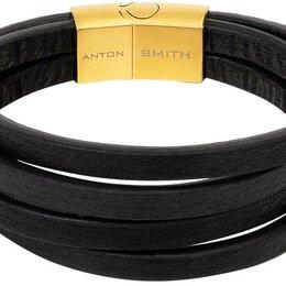 Браслеты - Браслет Anton Smith AS-BR055-bk-1_21, 0