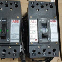 Защитная автоматика - автомат ABB 200А, 3-полюсный автомат, 0