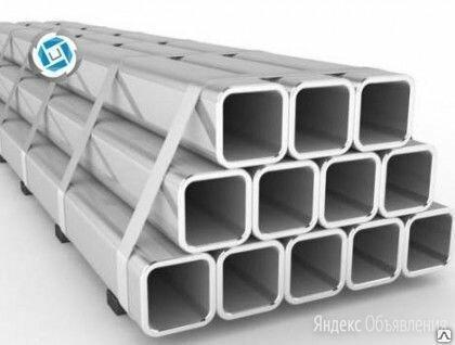 Труба алюминиевая профильная прямоугольная (бокс) 50х30х3 АД31 по цене 945₽ - Металлопрокат, фото 0