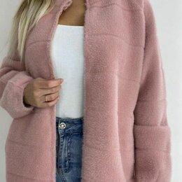 Пальто - Женское короткое пальто альпака р-ры 46-60, 0