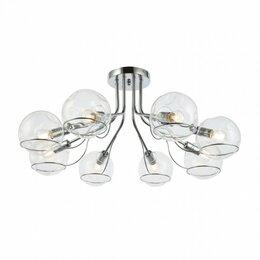 Люстры и потолочные светильники - Потолочная люстра Evoluce Baca SLE102502-08, 0