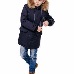 Куртки и пуховики - 357-21з-2 БАТИК Кертис Парка  Мал Синий тёмный  Зима, 0