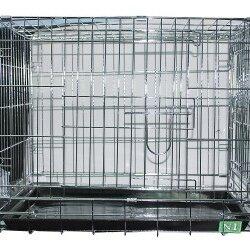 Транспортировка, переноски - N1 Клетка  для домашних животных хромированная 78*48*55, 0