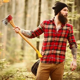 Рабочие - Вальщик деревьев, лесоруб, 0