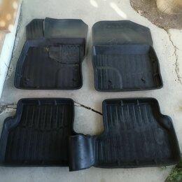 Аксессуары для салона - Коврики салона Ford Focus 3, комплект, б/у, резиновые, 0