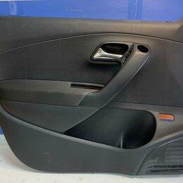 Кузовные запчасти  - Обшивка двери левая передняя Volkswagen Polo 10-20 (6RU867011FUPL), 0