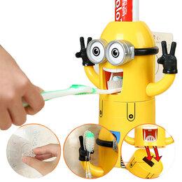 """Комплектующие - Дозатор зубной пасты с держателем """"Миньон"""", 0"""