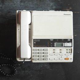 Проводные телефоны - Телефон автответчик Panasonic, 0