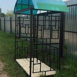 Наборы и аксессуары для каминов и печей - Дровница садовая на 5 кубов , 0