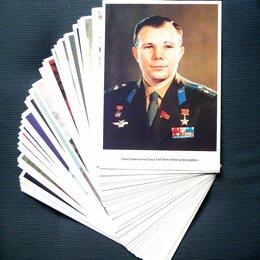 """Открытки - Набор открыток """"Лётчики-космонавты СССР"""" 1986 год, 0"""
