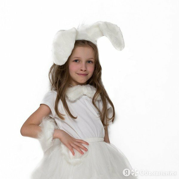 Набор Зайка белый детский БС-1835 по цене 520₽ - Наборы инструментов и оснастки, фото 0