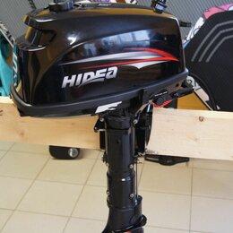 Двигатель и комплектующие  - 2х-тактный лодочный мотор HIDEA (Хайди) HD 5 FHS, 0