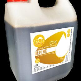 Ингредиенты для приготовления напитков - Концентрированный сок «Персик» 5 кг., 0