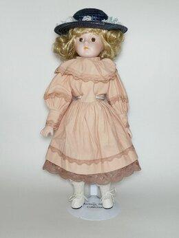 Фигурки и наборы - Кукла фарфоровая коллекционная. Англия. , 0
