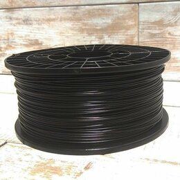 Расходные материалы для 3D печати - PETG пруток 1.75 мм черный катушка 850р, 0