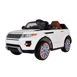 Электромобили - Детский электромобиль Range Rover Luxury White MP4 12V - SX118-S, 0