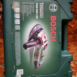Шлифовальные машины - Угловая шлифмашина bosch pws 850-125 (06033a2720), 0