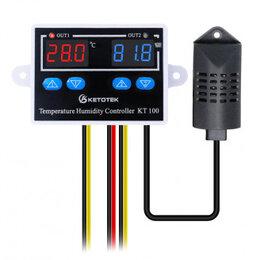 Системы Умный дом - Контроллер температуры и влажности KT100, 0