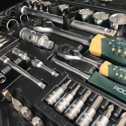 Прочие аксессуары  - Набор автомобильных инструментов ROCKFORCE RF-4821-5, 82 предметов, 0