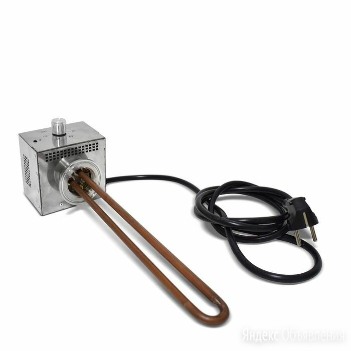 ТЭН для самогонного аппарата, 3 кВт (медный, с регулятором) по цене 5490₽ - Аксессуары и запчасти, фото 0