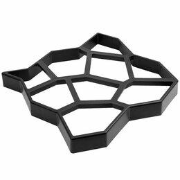 Садовые дорожки и покрытия - Форма для отливки садовых дорожек 50х50х6см  Vortex, 0