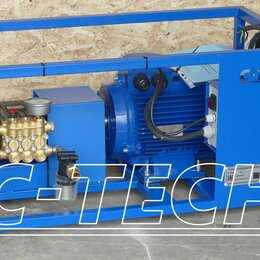 Мойки высокого давления - Гидродинамическая установка C-TECH Bounche 250bar, 0